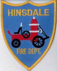 Hinsdale Volunteer Fire Department Patch